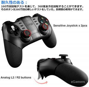 iPega 9076 best Controller for Windows and PS3 devices