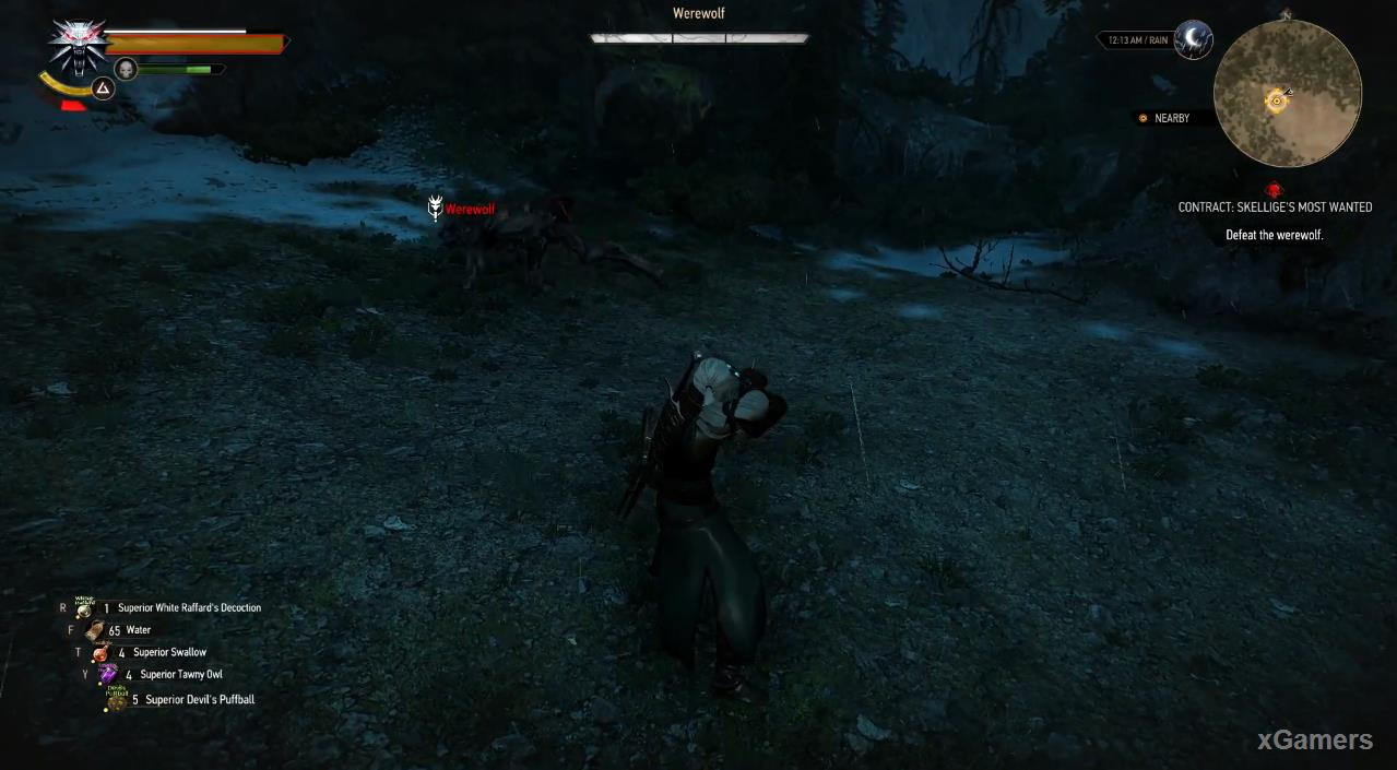 Geralt fight him and you won t be able to save him. Use evasive maneuvers in battle, shield and Axia sign