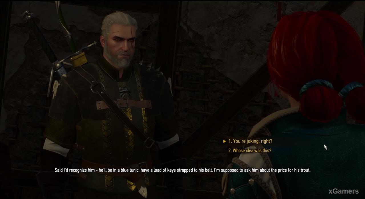 The Witcher 3 Quest: A Matter of Life and Death