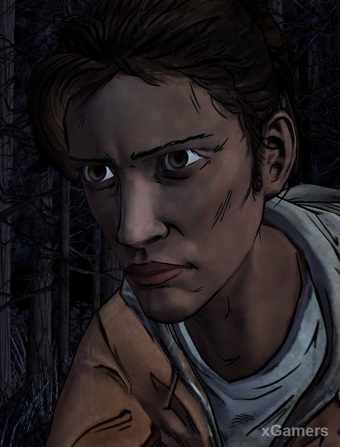 Christa - The Walking Dead: Game Characters