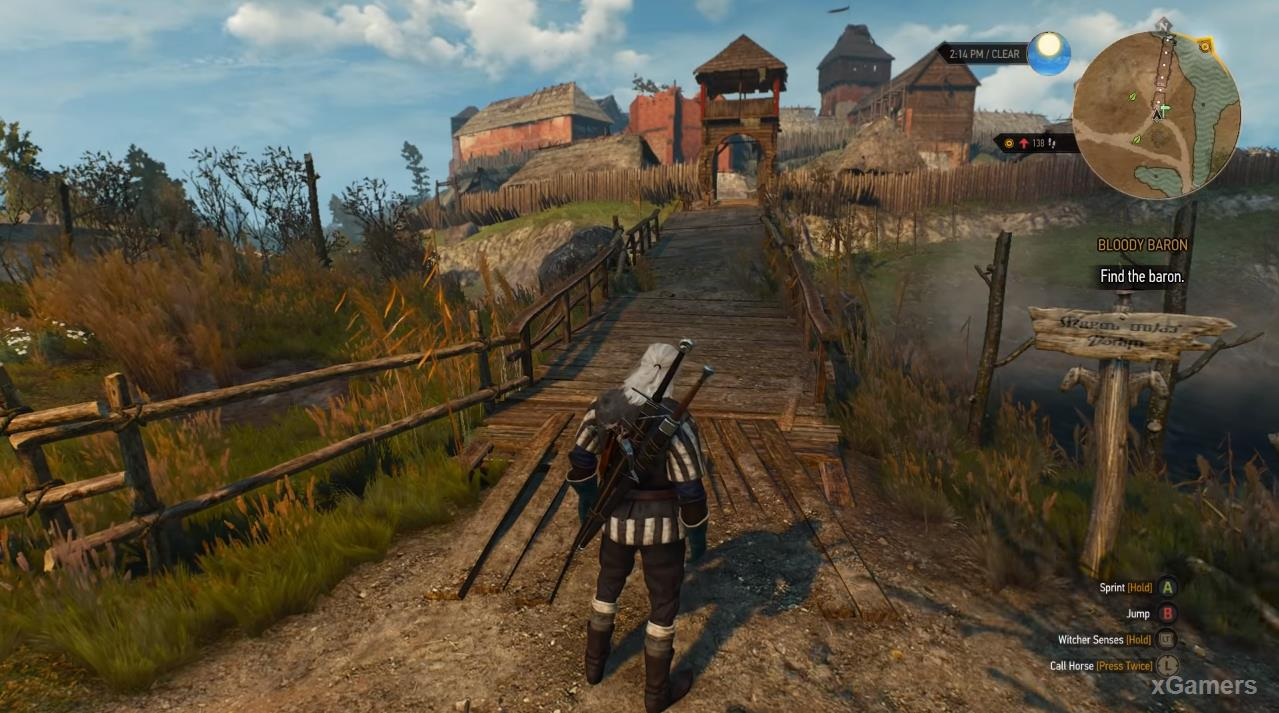 The Witcher 3 Quest «Bloody Baron»