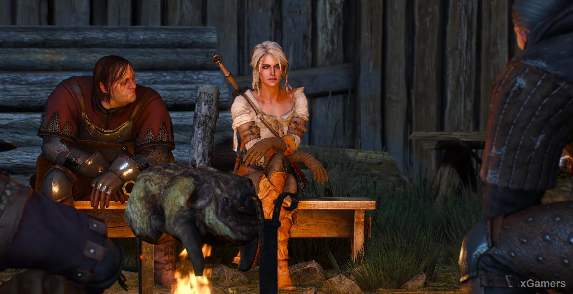 Starting a new quest - Ciri s Story: The Race