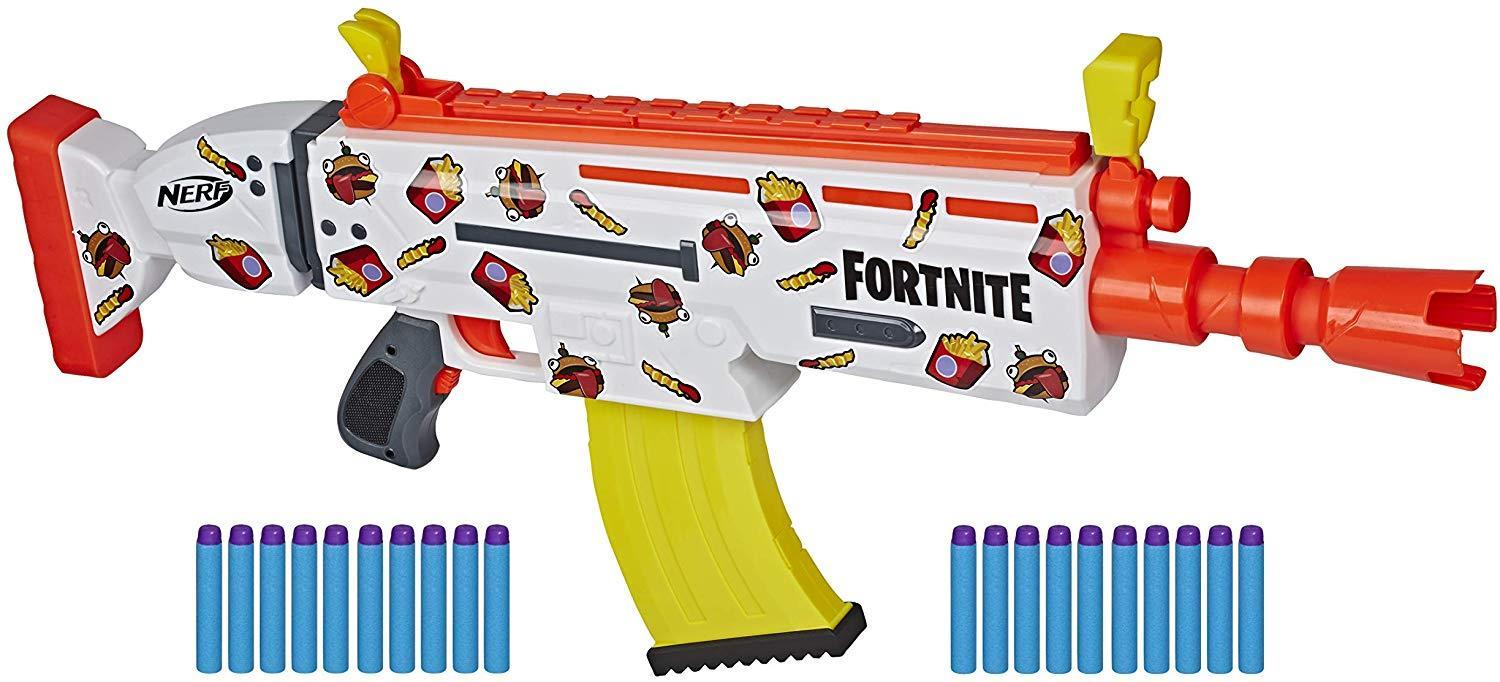 Best gifts for fortnite lovers - NERF Fortnite AR-Durrr Burger Motorized Blaster