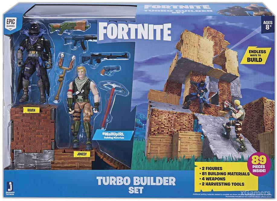 Fortnite Turbo Builder Set 2 Figure Pack, Jonesy & Raven- Best gifts for fortnite lovers