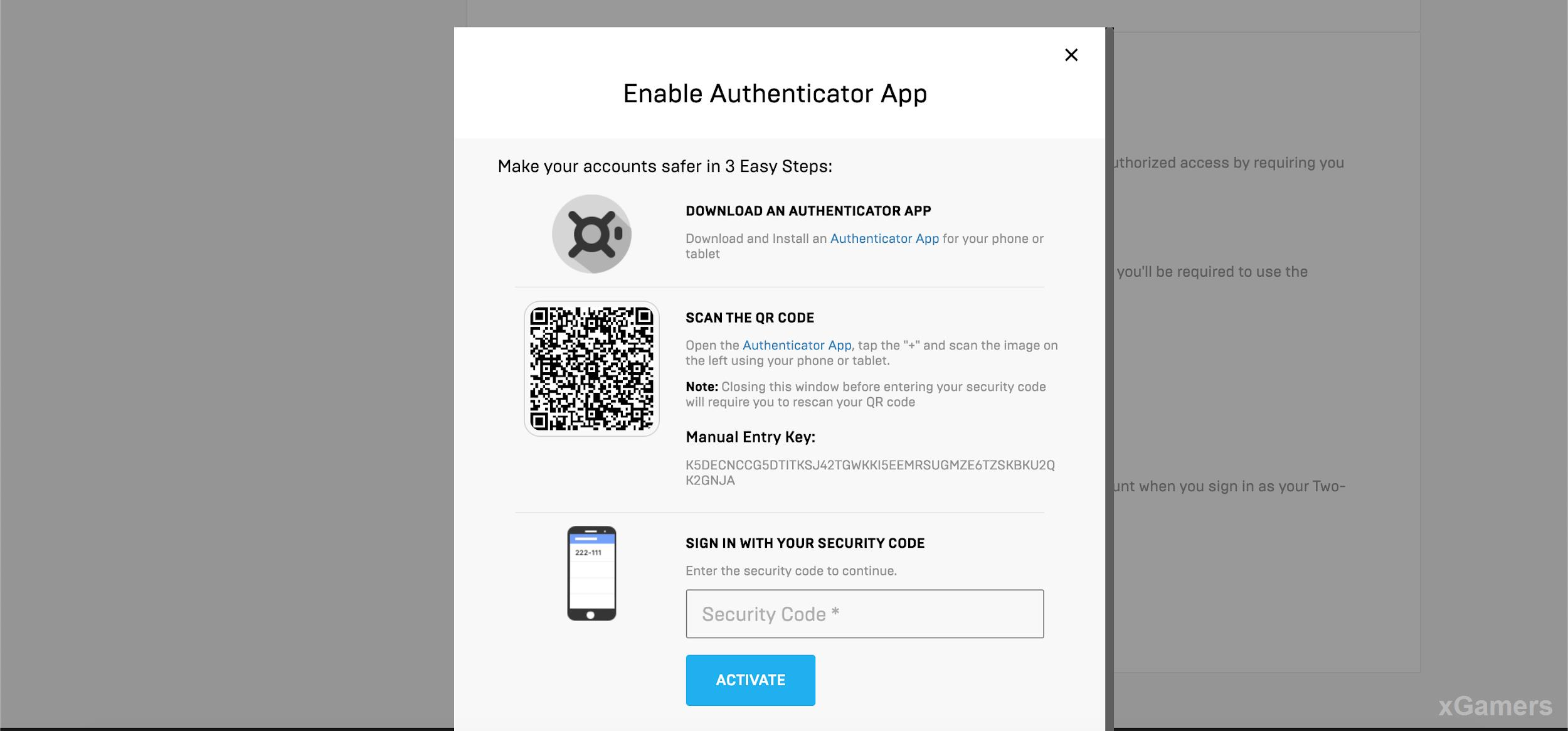 Enable Authenticator App - Make your accounts safer in 3 Easy Steps
