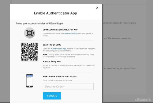 How to Enable 2FA on Fortnite | Methods (Authenticator App & Email) | xGamers