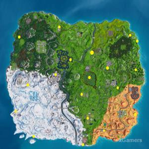 Where to Find the Ten Golden Balloons in Fortnite for Season 7 Week 9