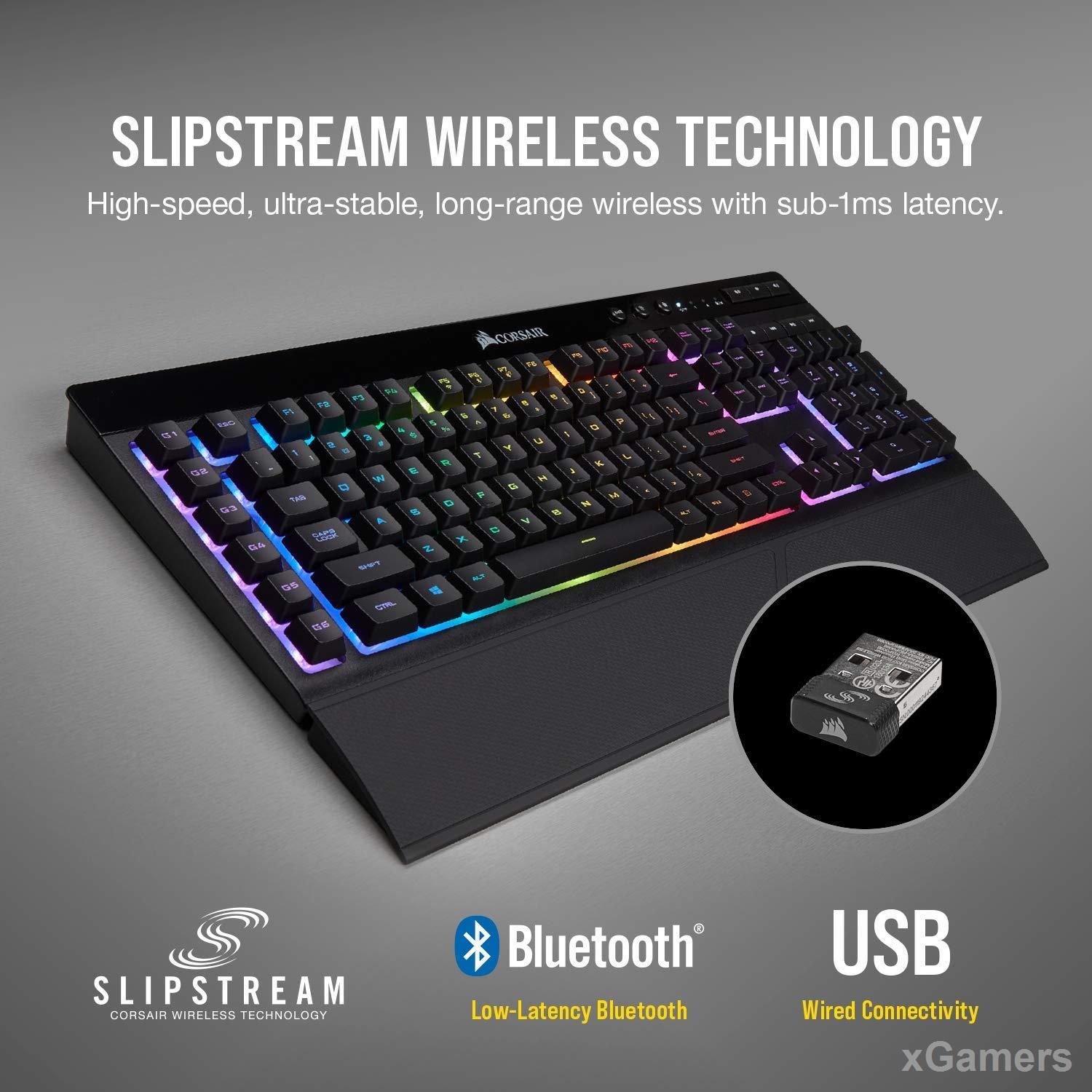 CORSAIR K57 RGB - Best Gaming Wireless Keyboard