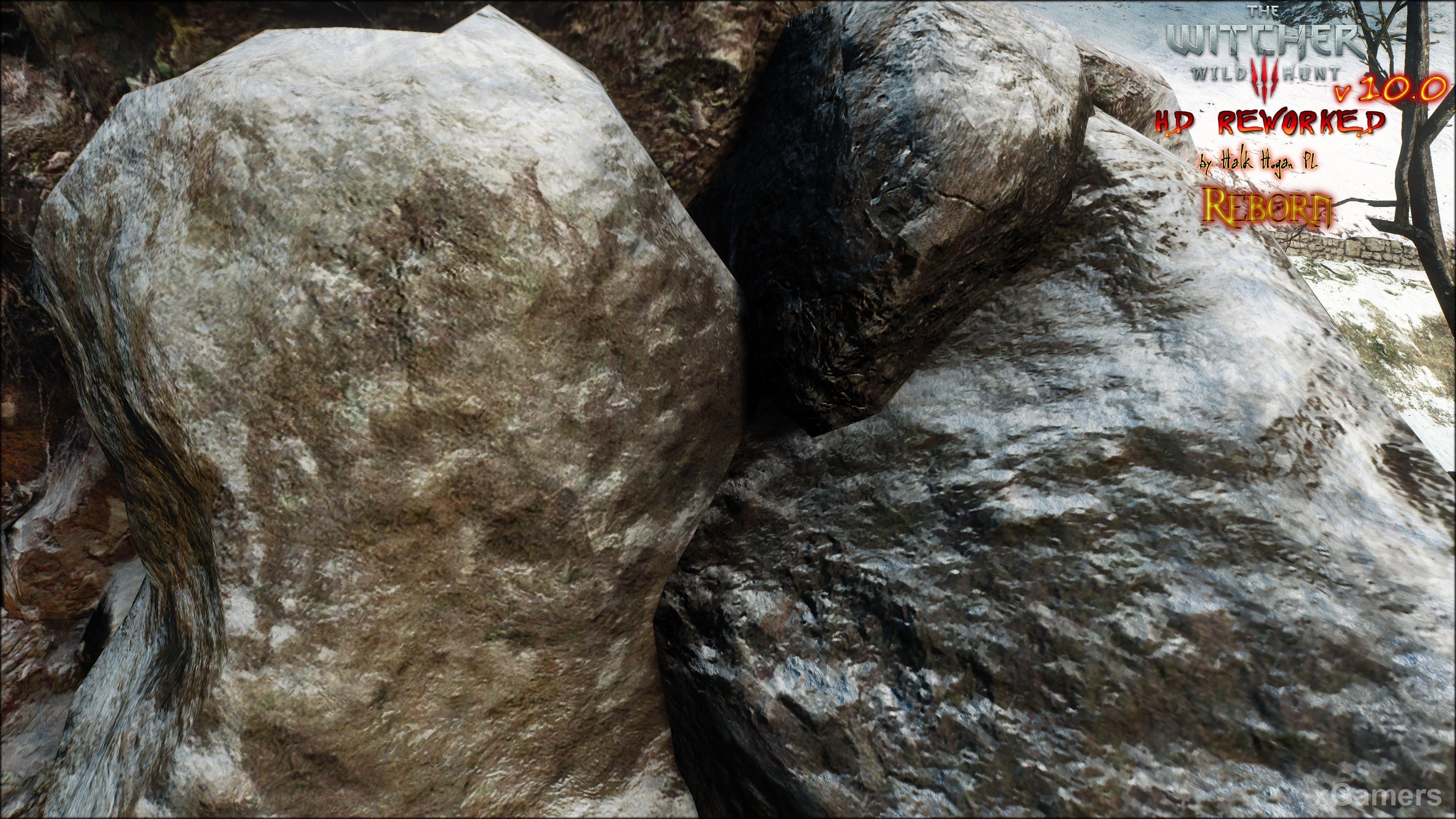 Detailed textures in original The Witcher 3 HD Reworked Project