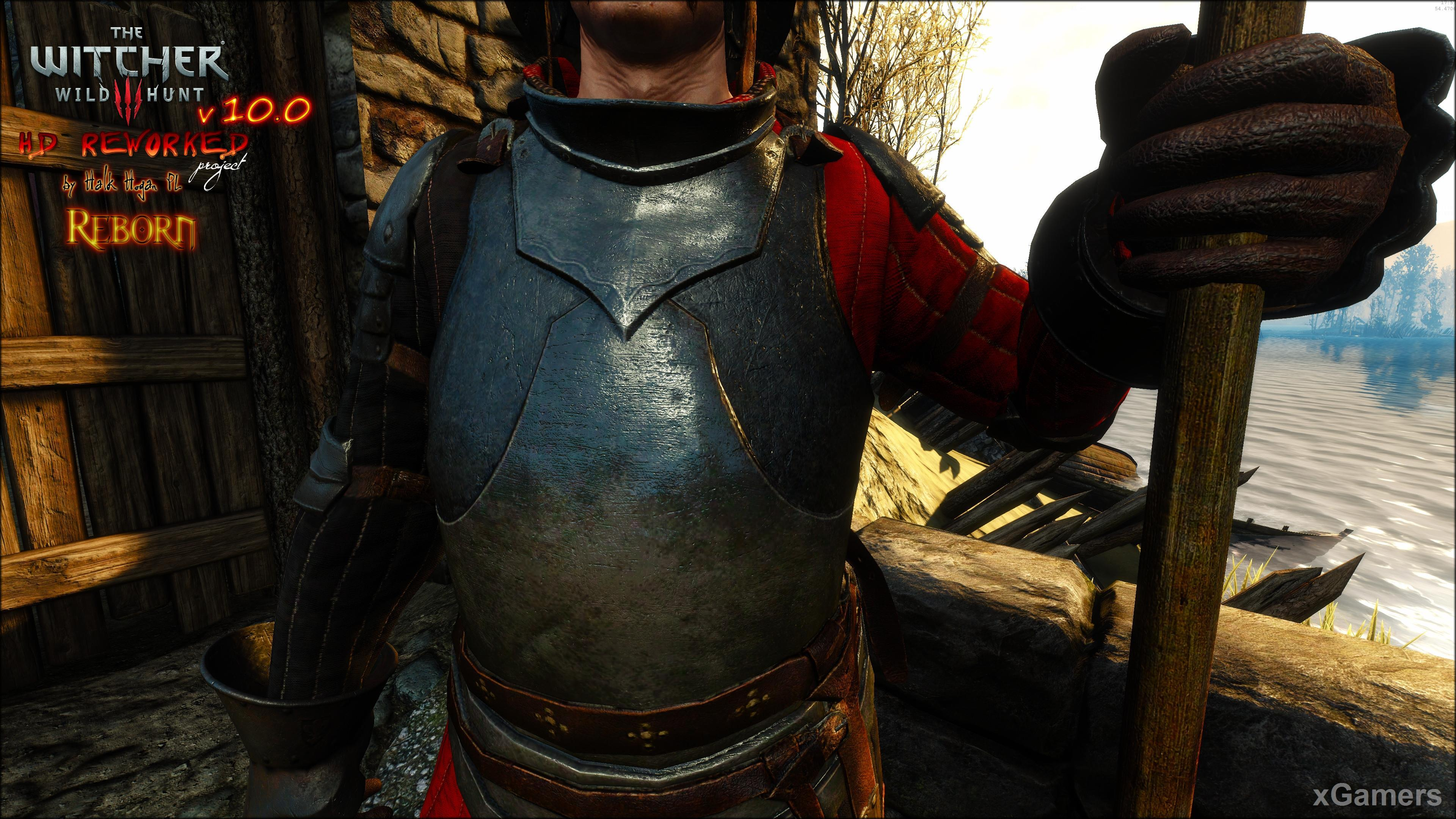 Mirroring objects on metal in The Witcher 3 HD Reworked Project