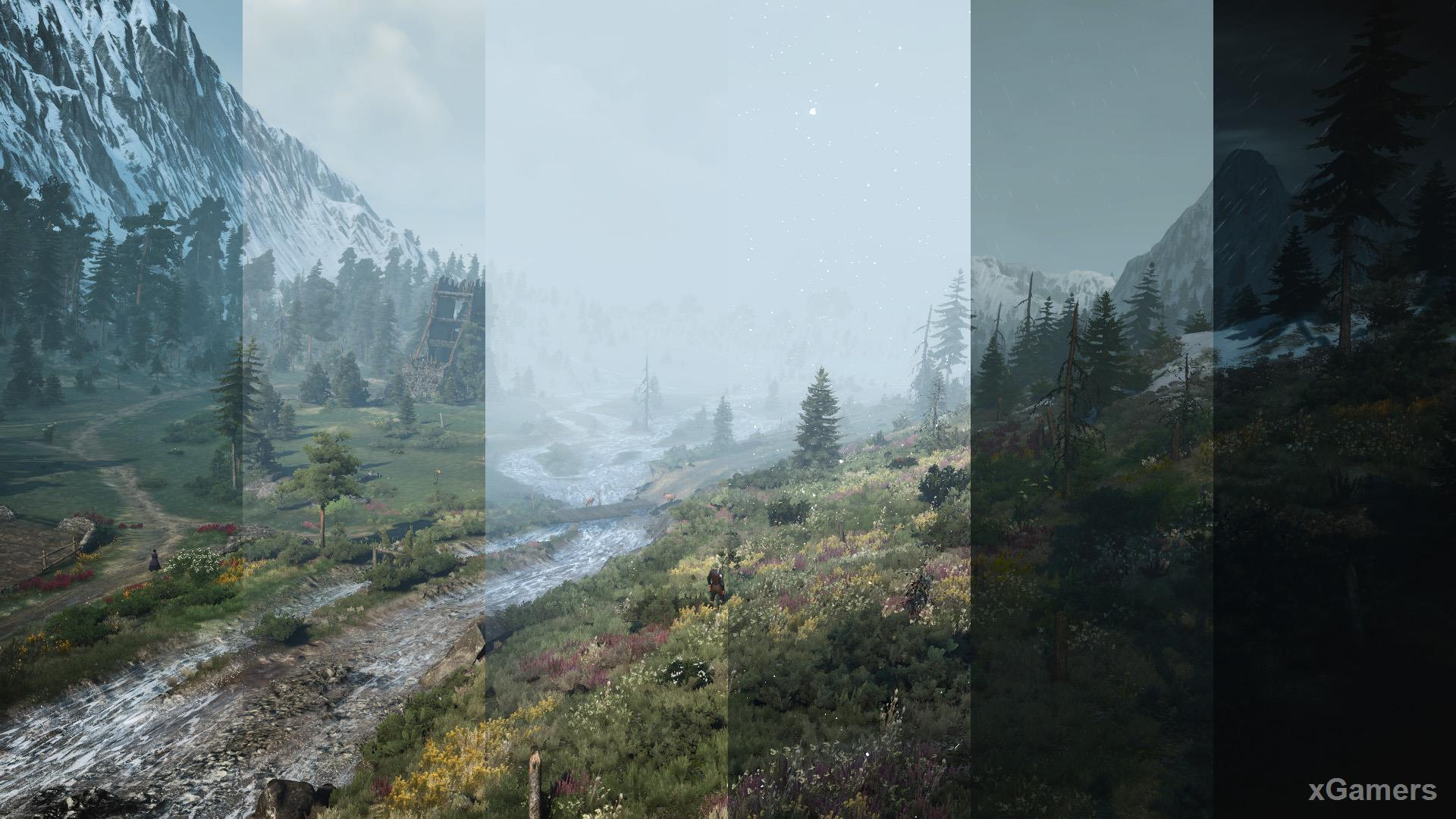 The Witcher 3 mod: Realistic Weather