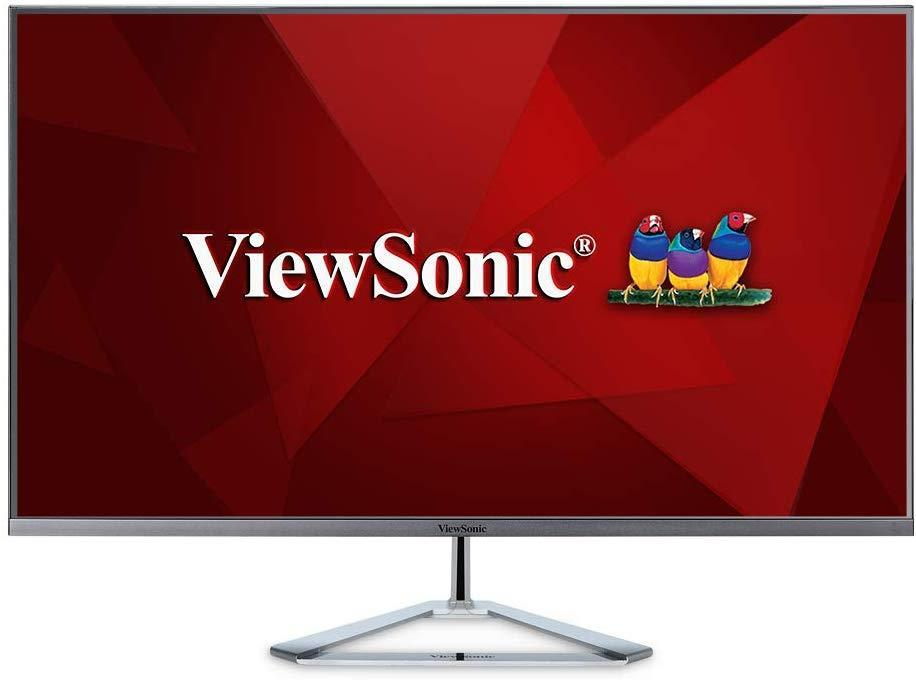 ViewSonic VX3276-2K-MHD Frameless Widescreen Monitor - Monitor for Photo Editing