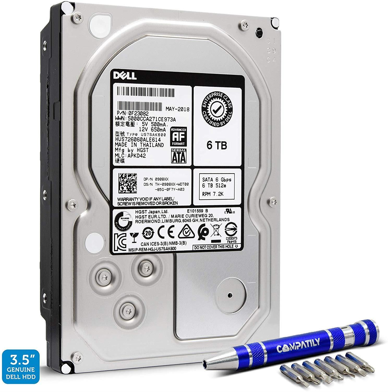 Best Hard Drives for Gaming - Dell HGST 6TB SATA III