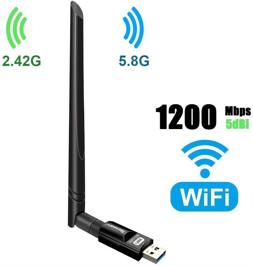 Techkey USB Wi-Fi Adapter 1200Mbps