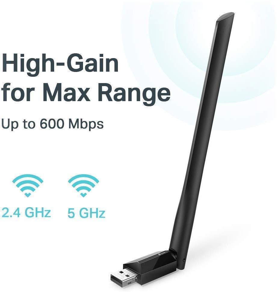 TP-Link USB Wi-Fi Adapter for PC AC600 Mbps