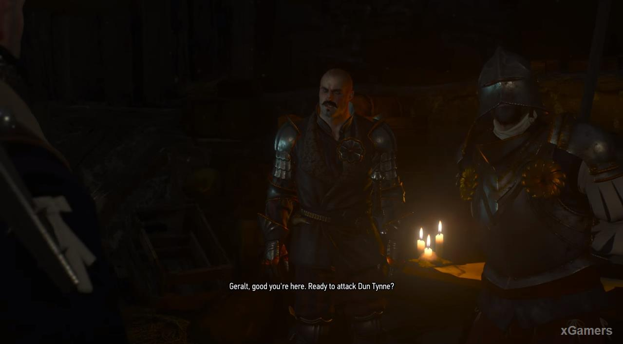 Geralt will inform you about if you come earlier, that meeting for closer to midnght