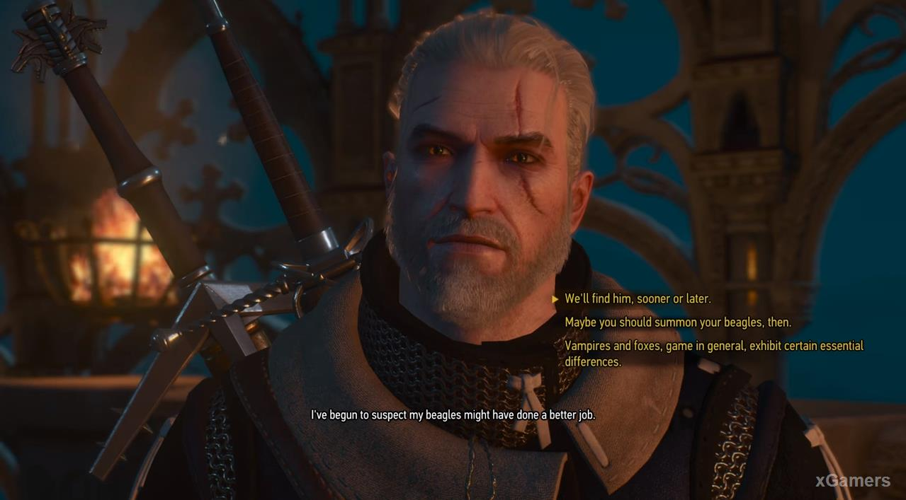 Regis and Geralt will not cope with the task set by the Princess