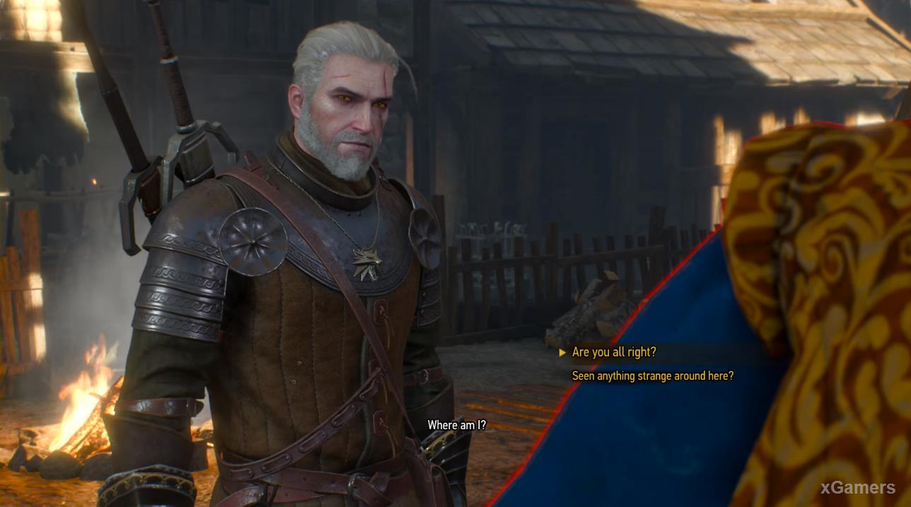 The scent of perfume will lead Geralt to a closed house