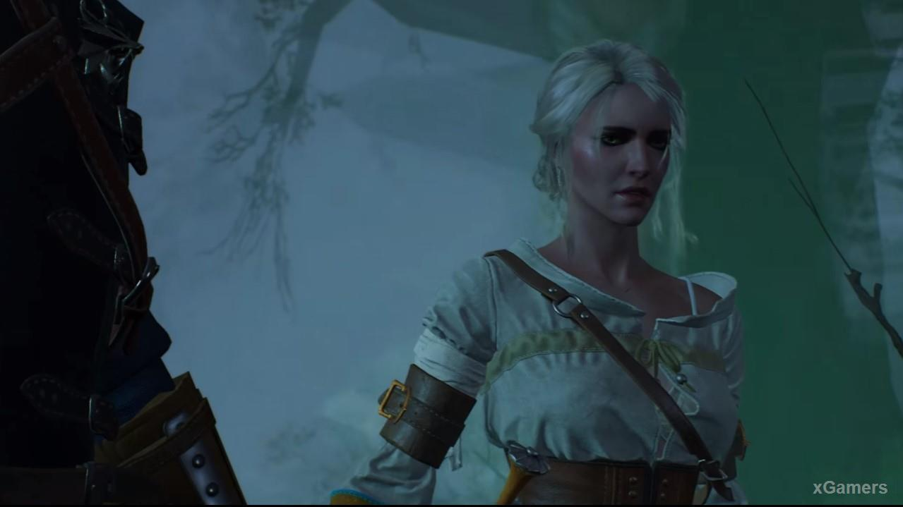 Ciri in quest: The Isle of Mists