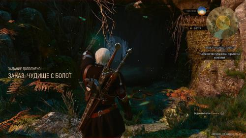 "Video passage The Witcher 3 - ""Monster from the swamps"" [1080p HD]"