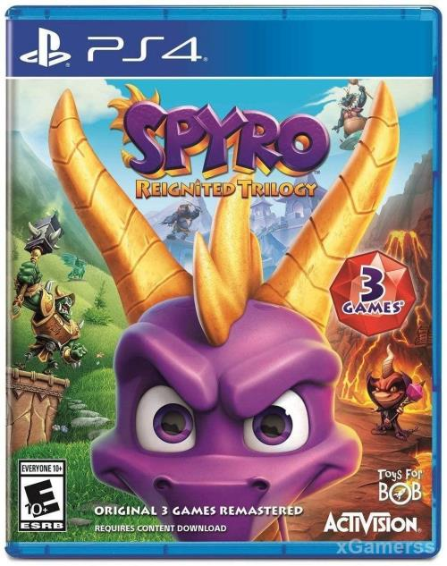 Spyro Reignited Trilogy - one of the best Games for Kids