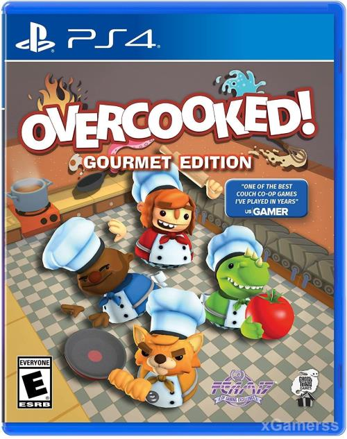 Overcooked - one of the best PS4 games for Kids