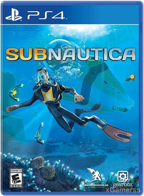 Subnautica - one of the best PS4 games for Kids