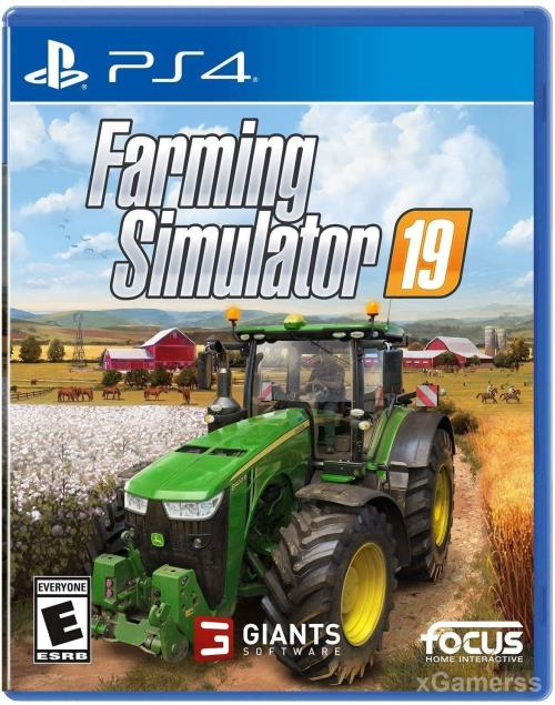 Farming Simulator 19 - one of the best PS4 Game for Kids