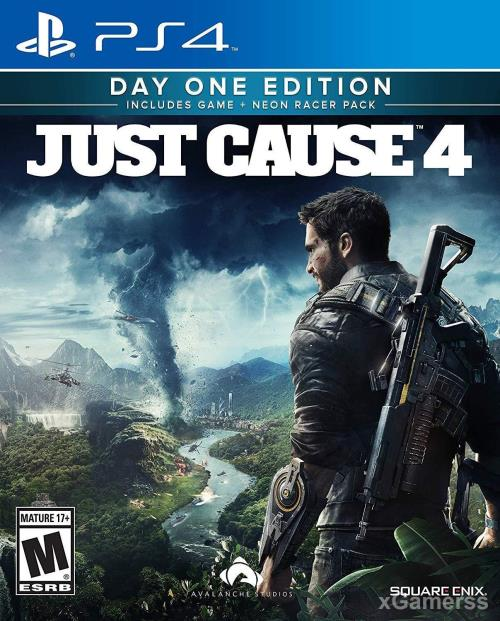 Just Cause 4 - one of the best adventure games for PS 4