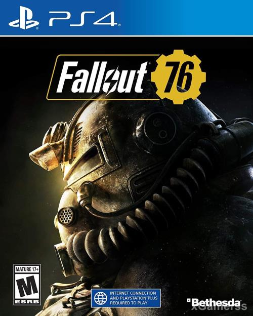 Fallout 76 - one of the best adventure games for PS4