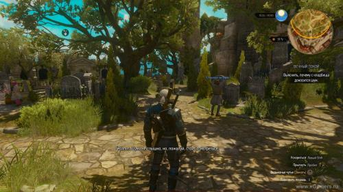 "Video passage The Witcher 3 - ""Eternal Peace"" [1080p HD]"