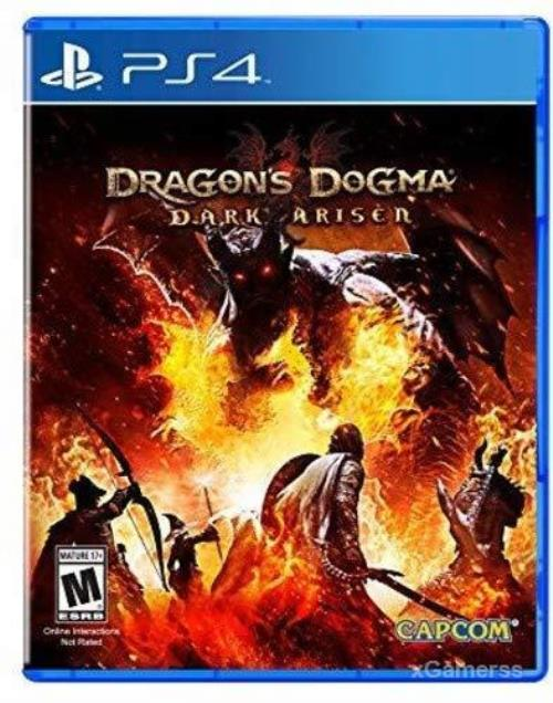 Dragon's Dogma - is an open-world title with heavy RPG elements