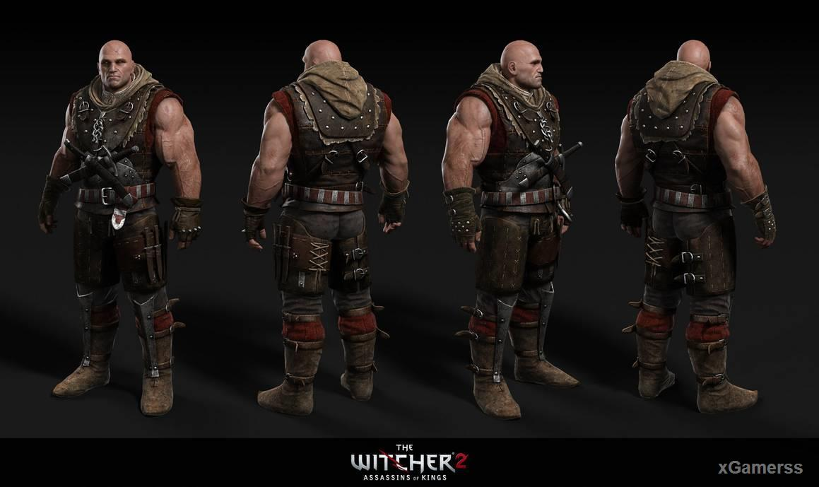Letho of Gulet: appearance in Witcher