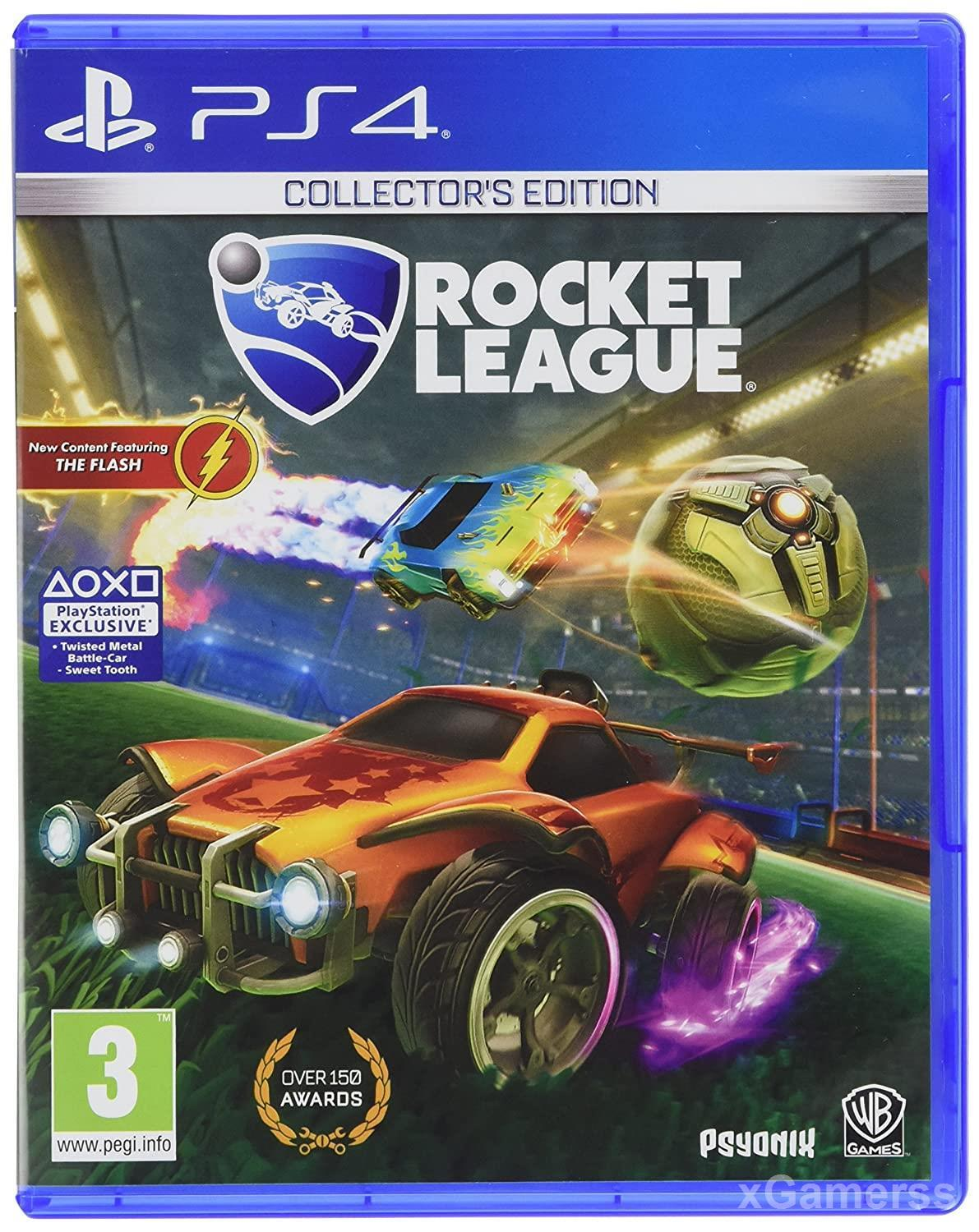 Rocket League - soccer and car combination into a high-speed sport
