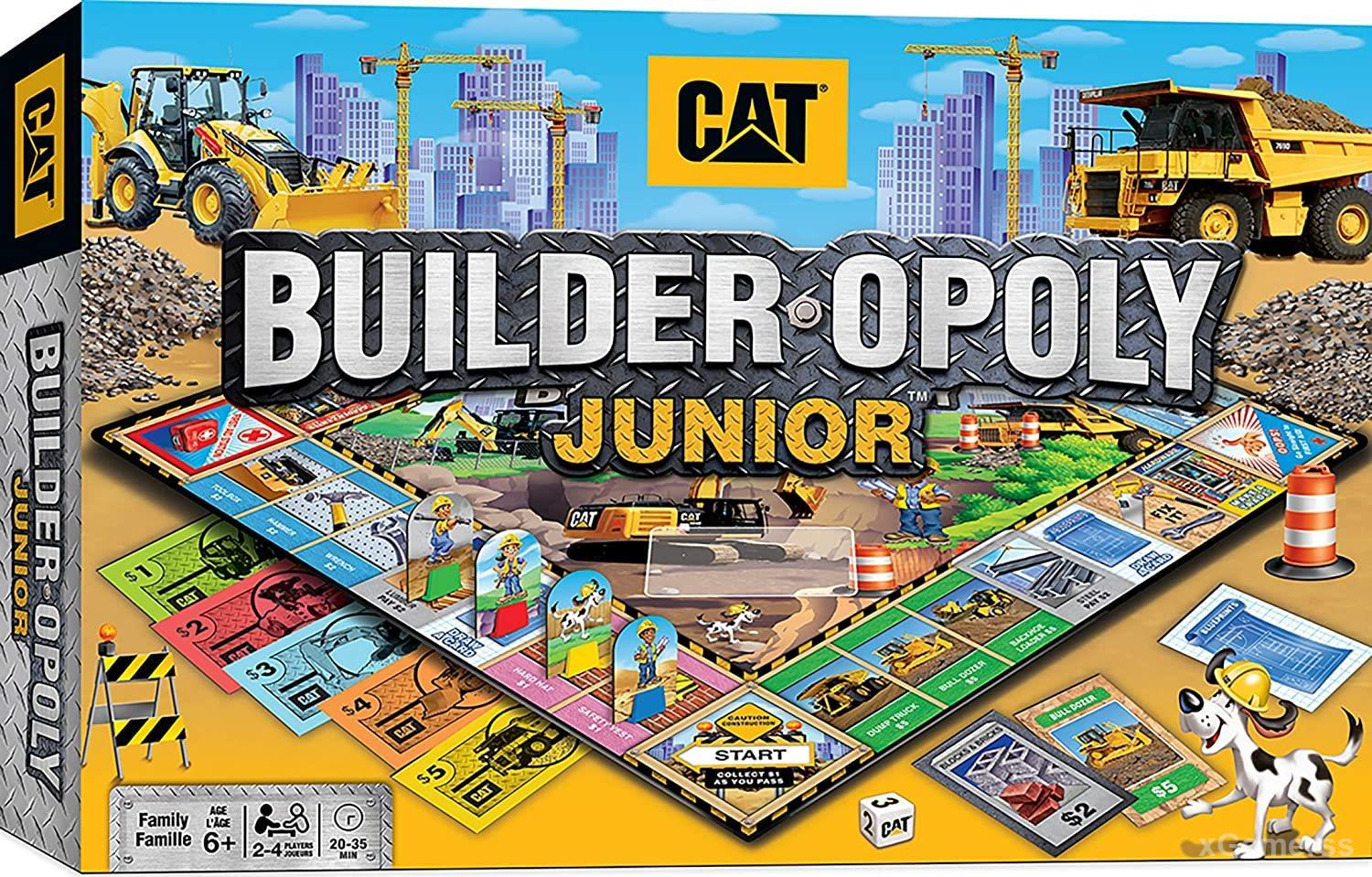 Builder Opoly Jr - set by the Masterpieces company