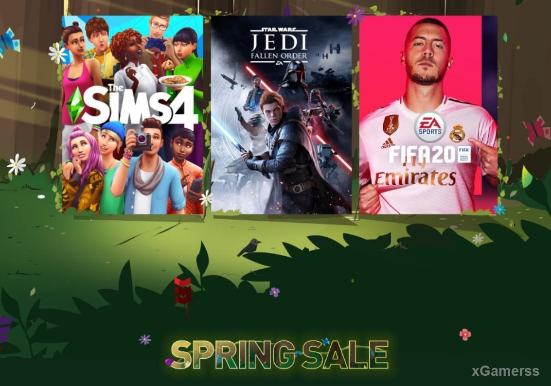 Origin has launched a Spring Sale