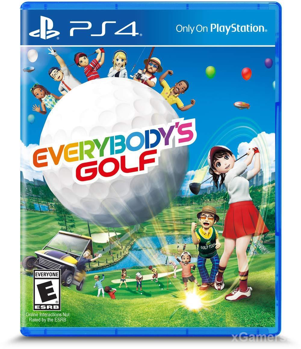 Everybody's Golf PS4 - one of the best Golf Games on PS 4