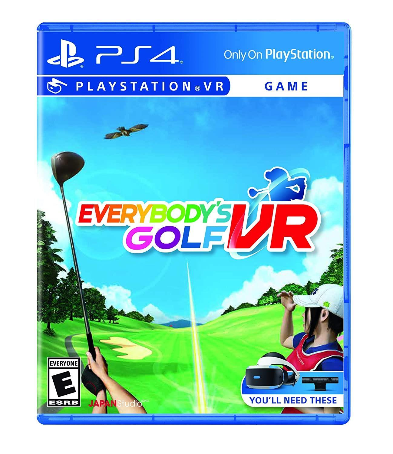 Everybody's Golf VR - one of the best Golf Games on PS 4
