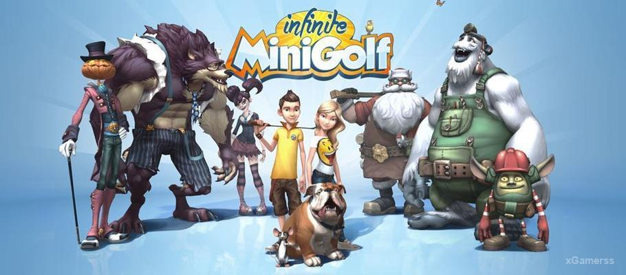 Infinite Minigolf - fantastical minigolf game that bends the rules of the sport