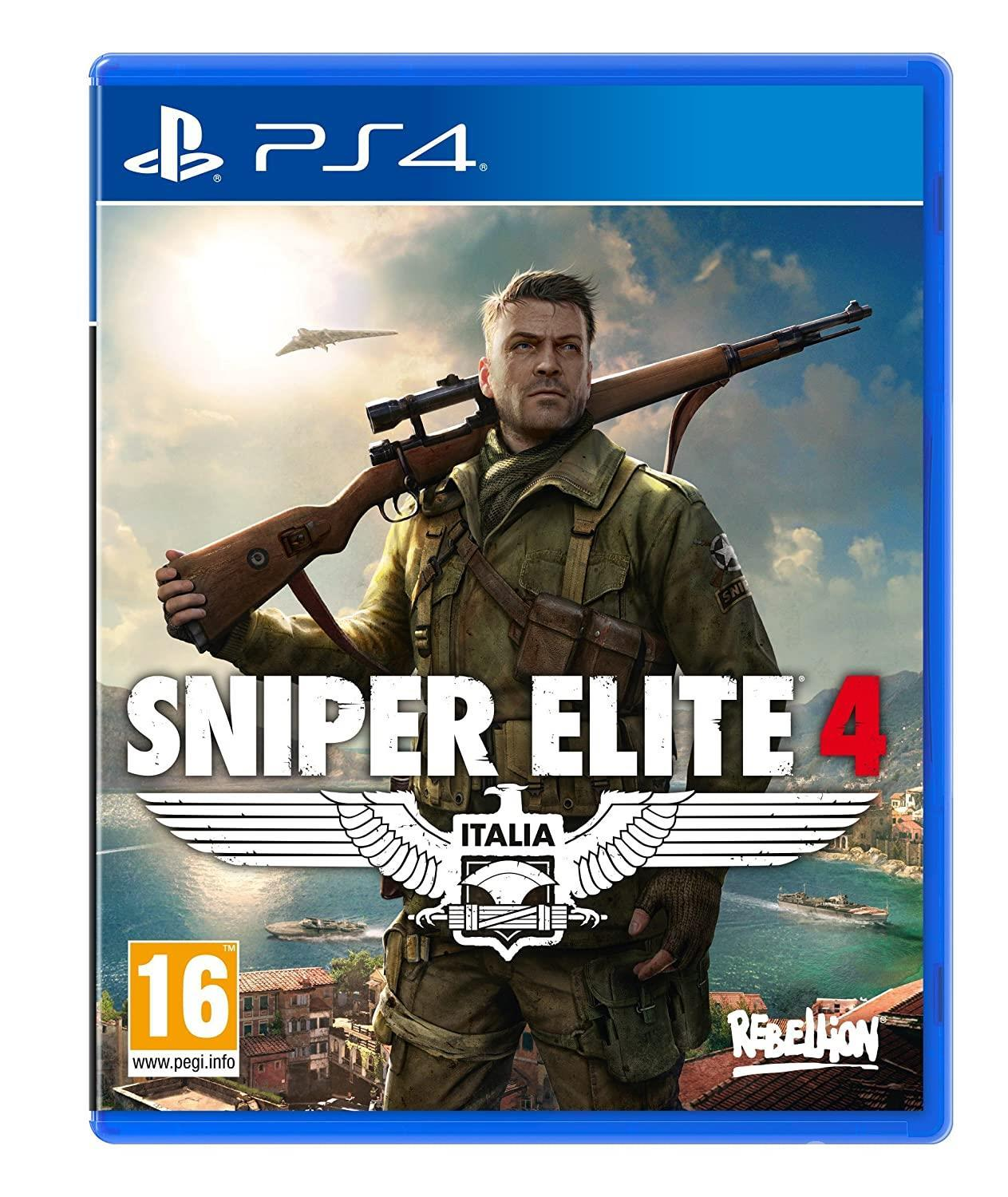Sniper Elite 4 - one of the best sniper Game for PS 4