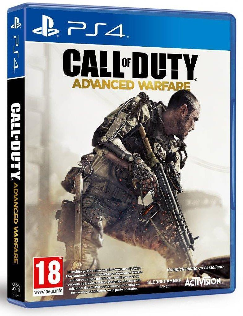 Call of Duty: Advanced Warfare - A first-person shooter game which takes place