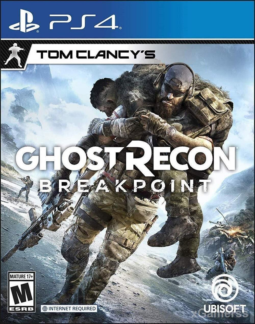 Ghost Recon Breakpoint - A science-fiction universe where you play in the third person in an infiltration adventure