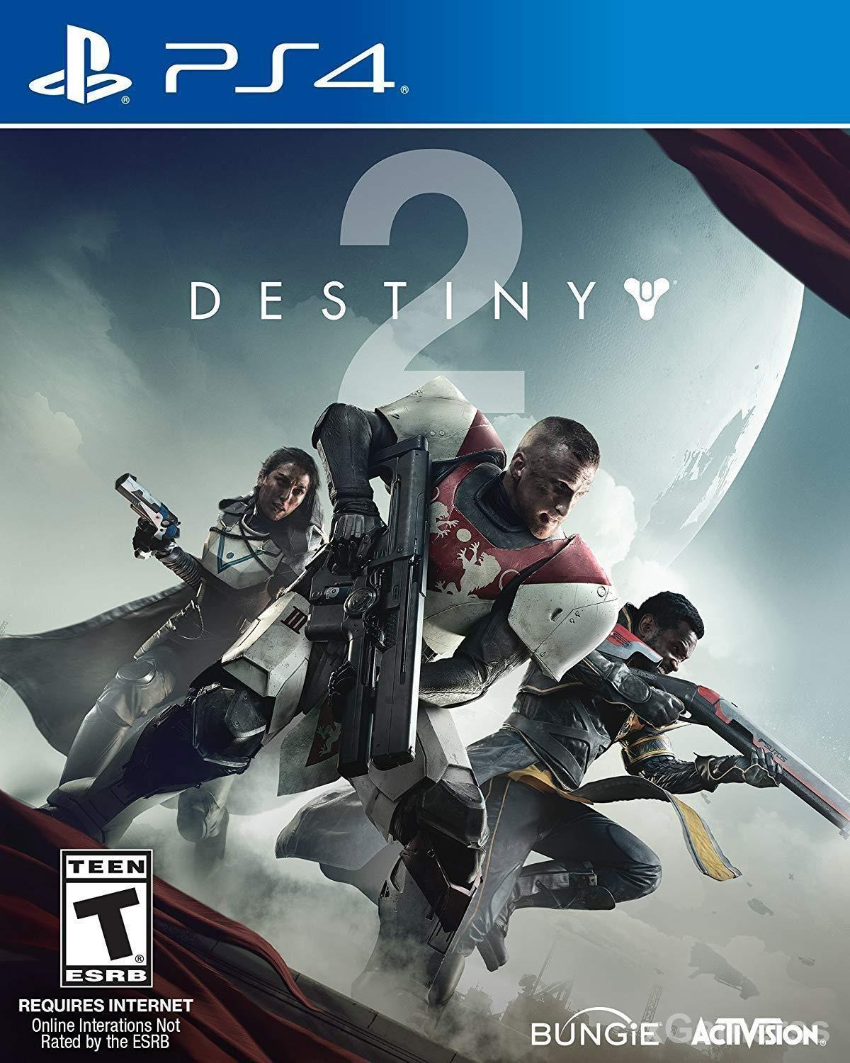 Destiny 2 - It is a multiplayer open-world game