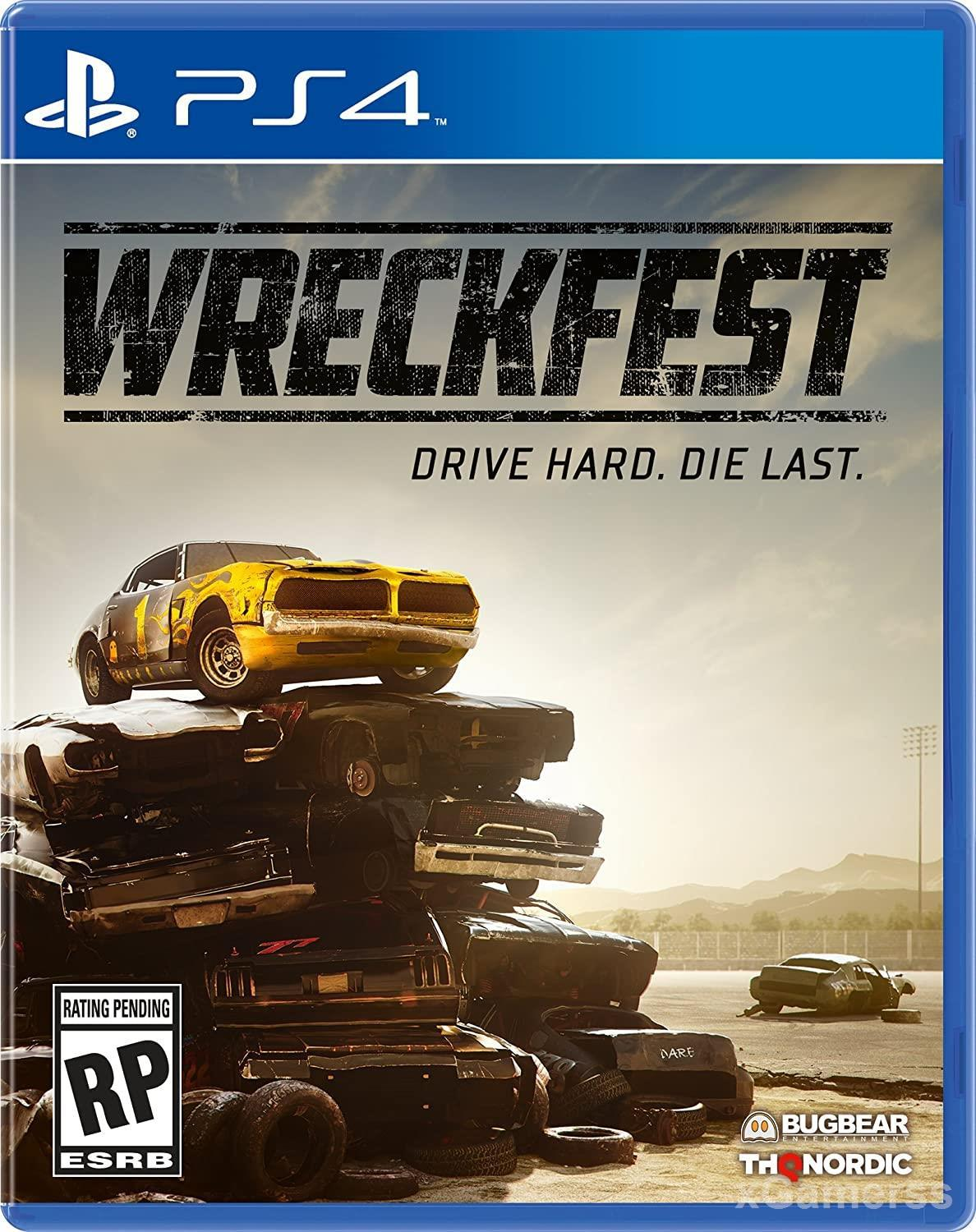 Wreckfest - it is about being as destructive as possible and piling up those wreckages along the way