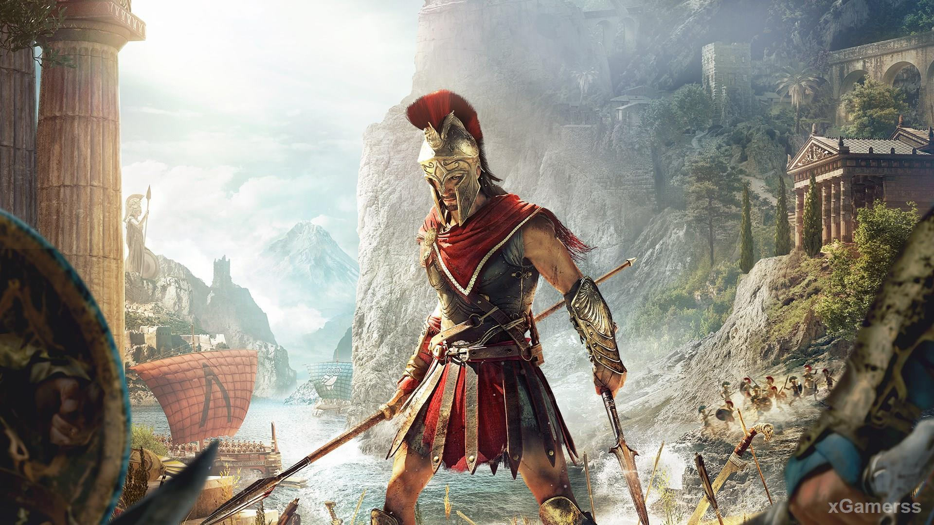ASSASSIN S CREED ODYSSEY - Write your own epic odyssey and become a legendary Spartan hero