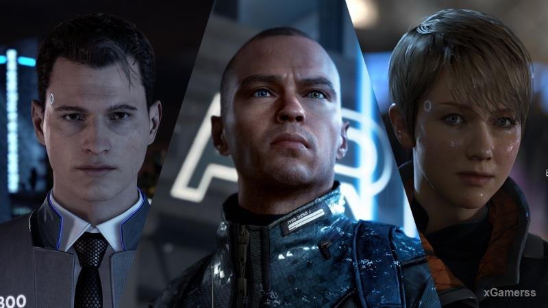 DETROIT: BECOME HUMAN -  this is a masterpiece is  a social phenomenon that suspends a huge number of questions of morality and humanity before each player