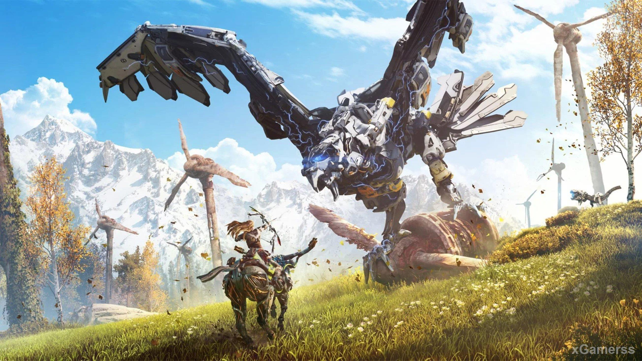 HORIZON ZERO DAWN - Embark on an emotional journey to unravel mysteries of tribal societies