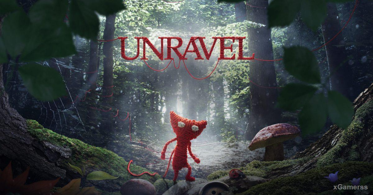UNRAVEL - arcade game for PS4