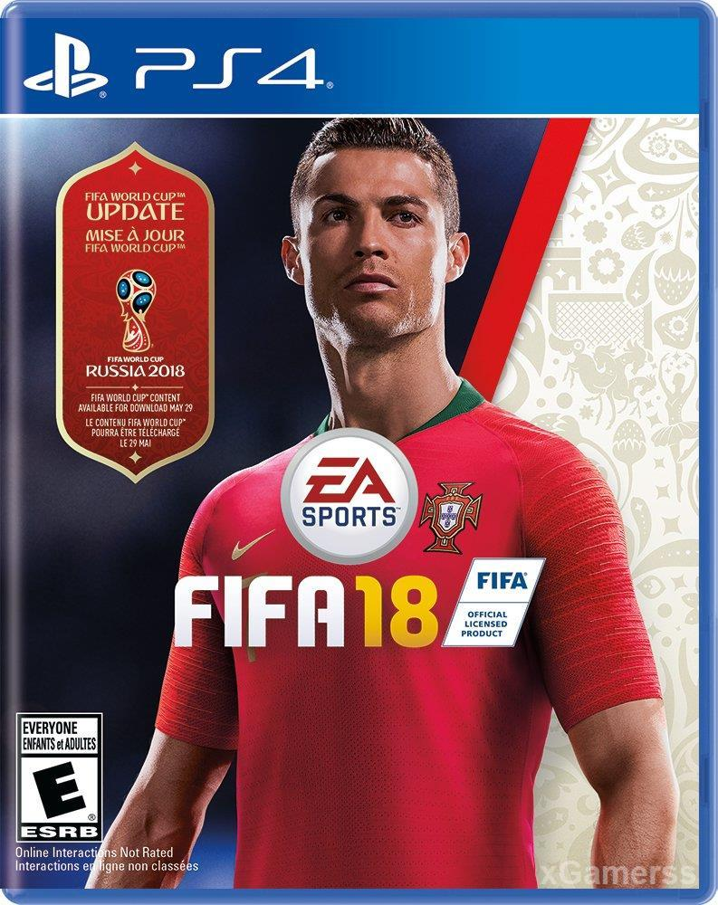FIFA 18 PS 4 - one of the best-selling editions