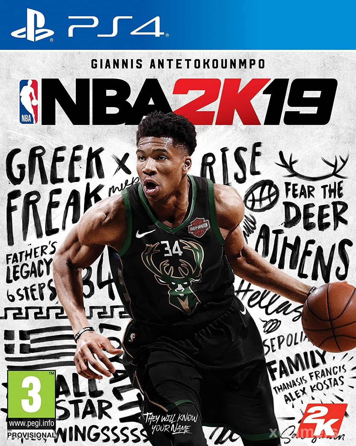 NBA 2K19 - a game with hyper-realistic graphics and motion mechanics